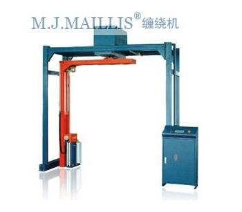 茂名化工用品全自动捆膜机|汕头调味品伸缩膜自动裹膜机