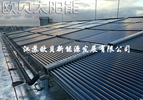 上海宝龙酒店太阳能加空气源热水方案