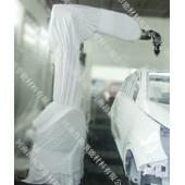 安川喷涂机器人防护衣, 喷涂机器人防护衣防尘服