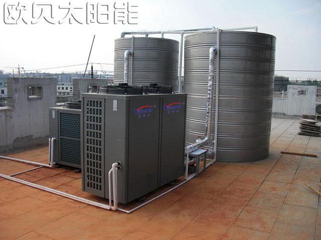 江苏宏泰空气源热泵热水工程