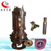 50PNQ立式潜水泥浆泵耐磨潜污吸沙泵无堵塞渣浆泵