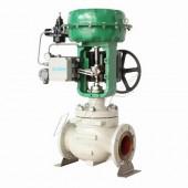 进口气动薄膜笼式调节阀-高温型气动笼式调节阀