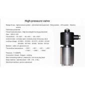 进口防爆高压电磁阀-DN1/DN5/DN6防爆高压电磁阀