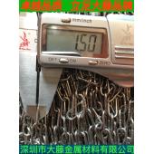 推荐1.5mm  2mm  3mm  4mm不锈钢链条厂家