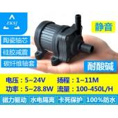 中科微型热水循环泵DC40H扬程11米、无刷直流抽水机、磁力