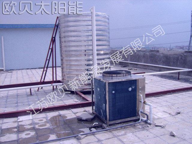 镇江润家宾馆空气源商用热泵热水工程