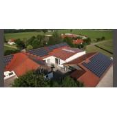 专业承接家用光伏屋顶安装方案设计、电站施工建设、后期运行维护
