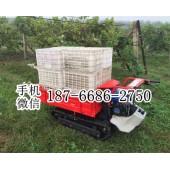 小型手扶全地形履带式运输车 多功能转运车 农用自卸翻斗车
