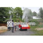 南昌自走履带式喷药机 300L打药桶喷雾机 农用风送打药机