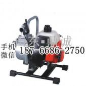 二冲程汽油机水泵 自吸泵排污消防水泵 农田园林灌溉抽水泵
