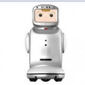 卡特智能安防早教小宝可做投影仪的机器人