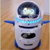 卡特早教安防可投影的小胖机器人