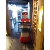 不用开工资的智能送餐机器人