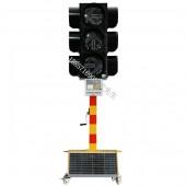 多功能移动红绿灯 太阳能移动红绿灯(箭头灯)骧虎