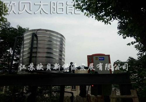 常州荣鑫宾馆空气能热水供应系统