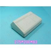 温控器外盒高档外壳ABS仪器仪表盒台式仪表盒操控器壳275*200*83
