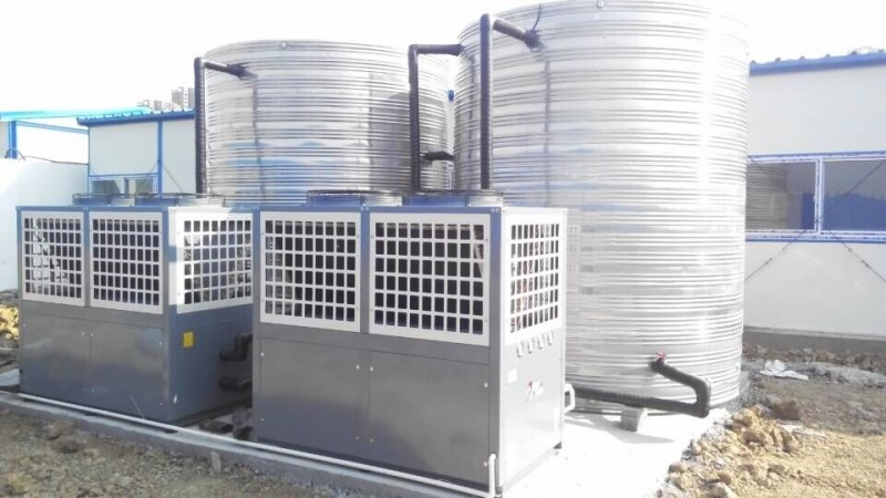 河北邯郸永宁公寓空气源热泵采暖工程