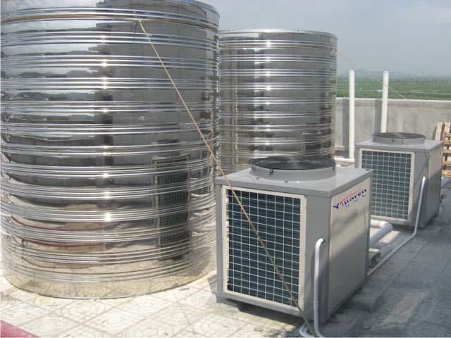 张家港沙洲医院空气能热泵热水工程