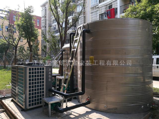 三大显著优势,空气能热泵在酒店热水工程大放异彩