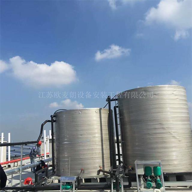 宁波杭州湖州大型酒店空气能热水工程