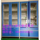 四平实验室全木结构实验柜,阶梯药品柜价格