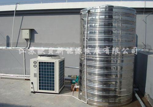 盐城骄阳兰多月子中心空气能热水器工程