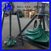 双曲面潜水搅拌机 多曲面波轮式伞形搅拌机