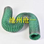 口径100绿色三防布风管