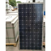二手尚德电站拆卸单晶硅195w太阳能发电板光伏组件