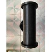 耐腐蚀胶套 气动管夹阀胶套 圆柱形天然橡胶胶套  报价