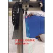 医用手术衣厂家 无纺布自动喷胶机替代人工刷胶防护衣衣生产制造