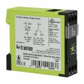 Tele时间继电器 V2ZA10, V2ZA10P, 3MIN, 24-240V, AC/DC