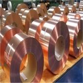 国标T2导电紫铜带,高精紫铜箔延展性好