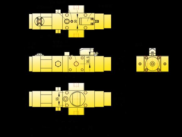 KINGAIR冲床超负荷保护器DS-211系列