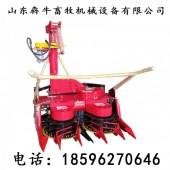新型背负式玉米秸秆青贮机优惠价格犇牛小型高效率青储机割台