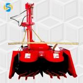 新型悬挂式皇竹草青储机优惠价格犇牛小型高效率青贮机割台