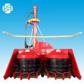 海南高效率背负式巨菌草青储机犇牛大型黑麦草青贮机割台批发