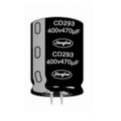 江海CD293系列牛角电解电容