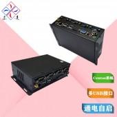 X86架构微型工业主机多串口RS232工控机